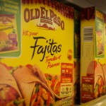 "This is what passes for ""Mexican"" food here--Old El Paso. I guess it'll do in a pinch. I guess."