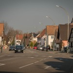 This is another view of the Village-Neuf main street.