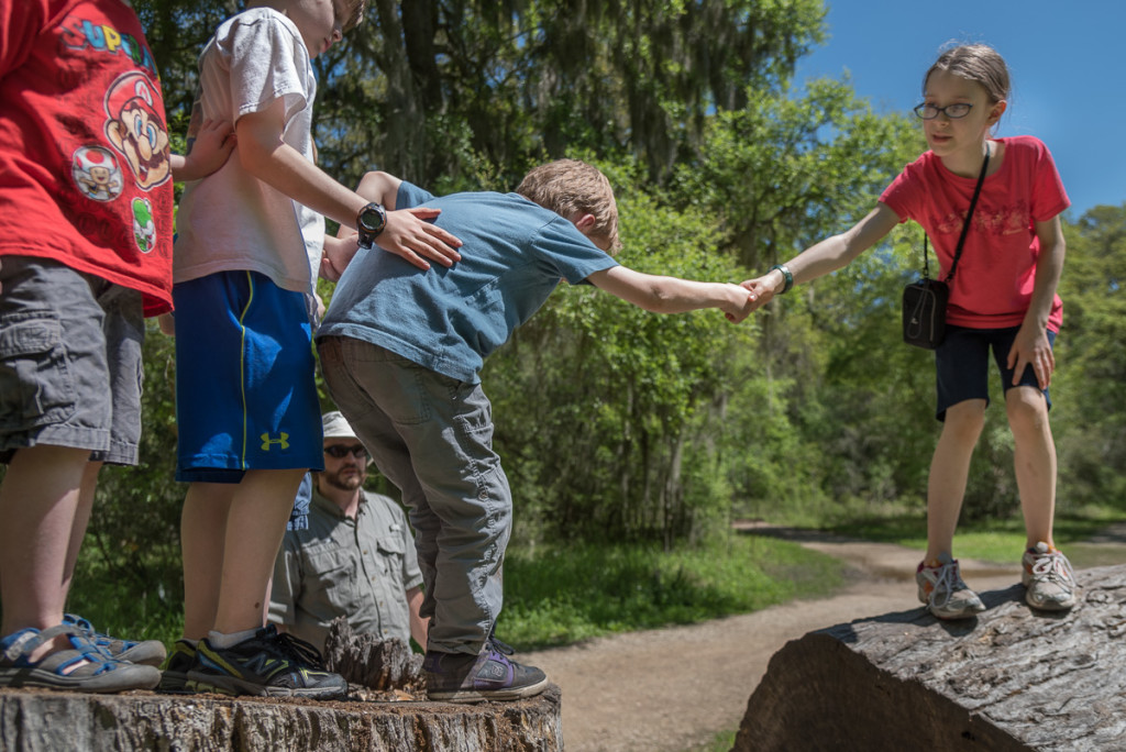 You may see some kids jumping from stump to log. I see the hope that is our three oldest working together to overcome obstacles--a skillset which will serve them well as we make our way in Germany.