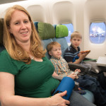 The kids were really excited to finally take flight for the first in their memory (except Phoenix). Miranda, Beast, and Cyclops posed at the beginning of the 12-hour flight to Istanbul.